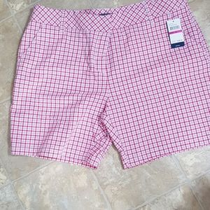 NWT women's Izoid plaid shorts